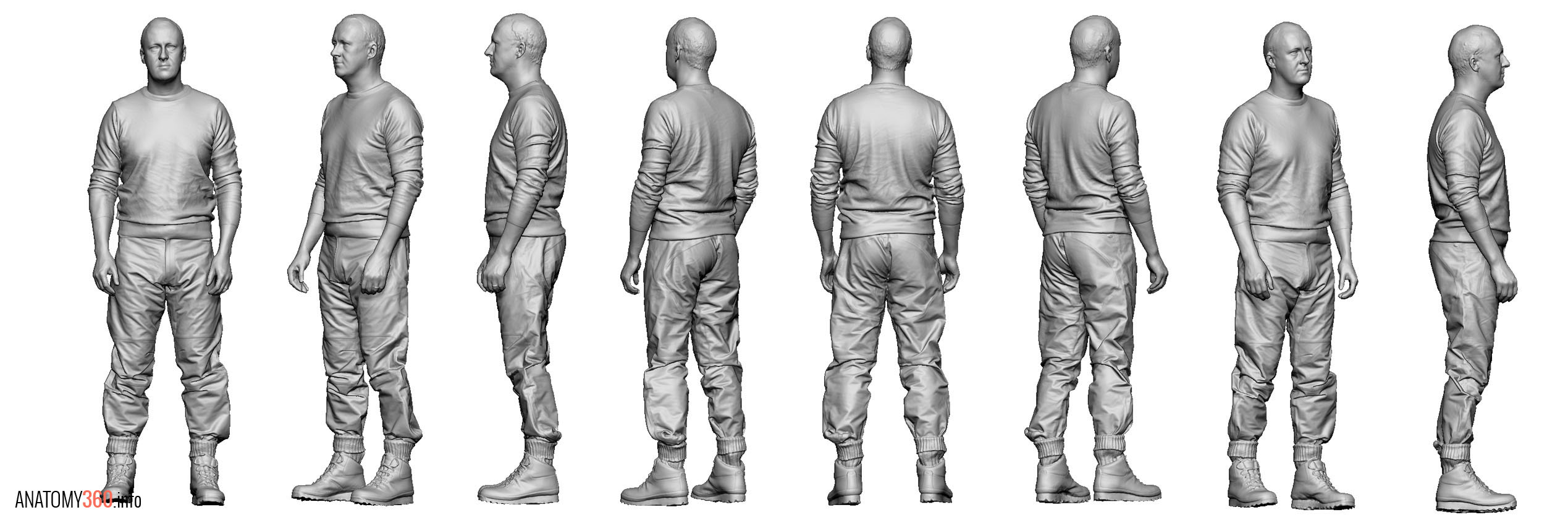 Male02_Walking_Arms_Down_LineUp