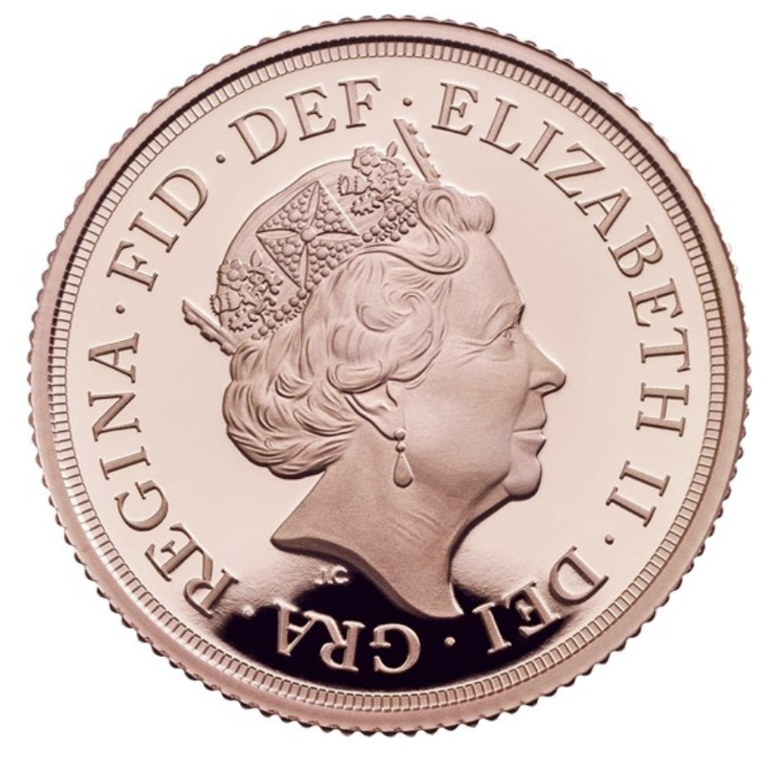 The Royal Mint reverse