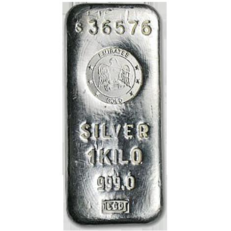 1 Kilo Bar (Silver)