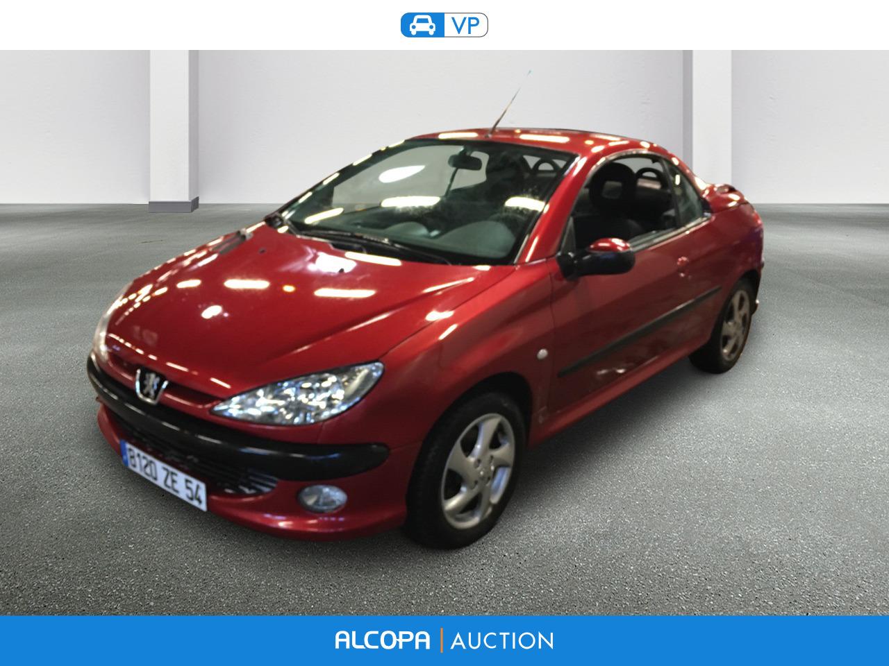 Peugeot 206 Cc Phase2 04 03 206 Cc 1 6 16v Alcopa Auction