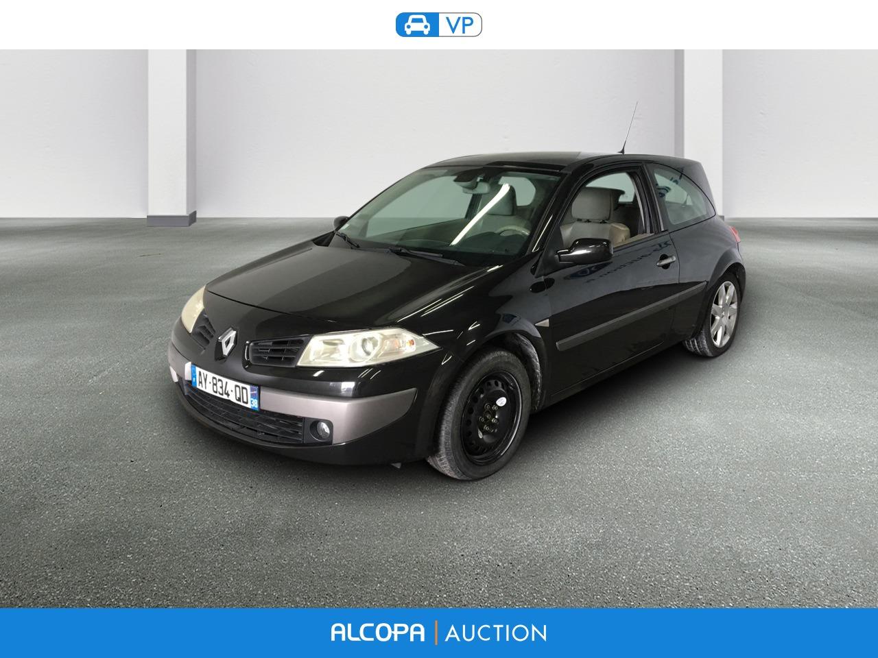 Renault Megane Ii Coupe 12 2005 04 2009 Megane Ii Coupe 2 0 Dci 150 Alcopa Auction