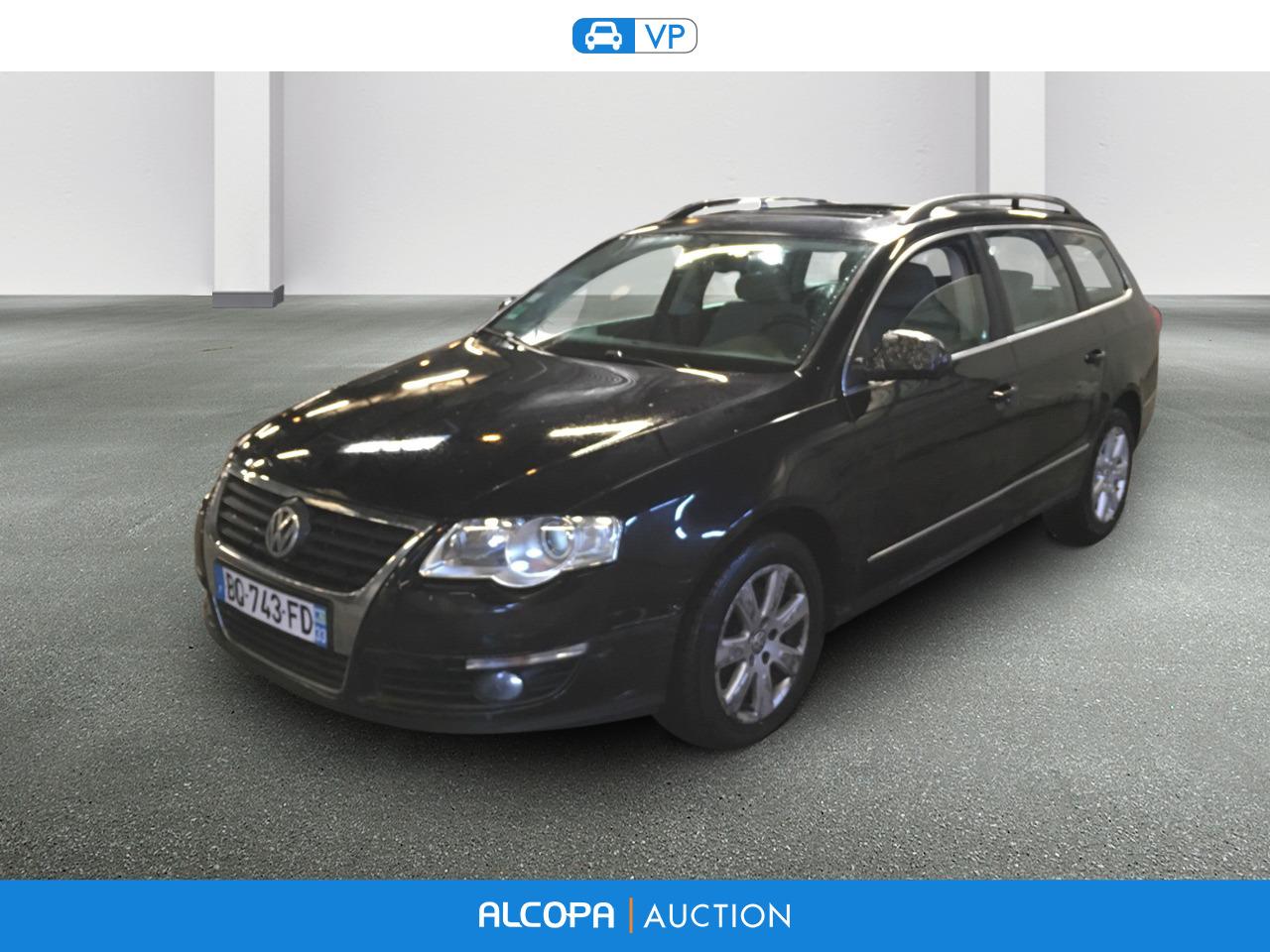 Volkswagen Passat Sw 09 2005 10 2010 Passat Sw 2 0 16s Tdi 140 Alcopa Auction