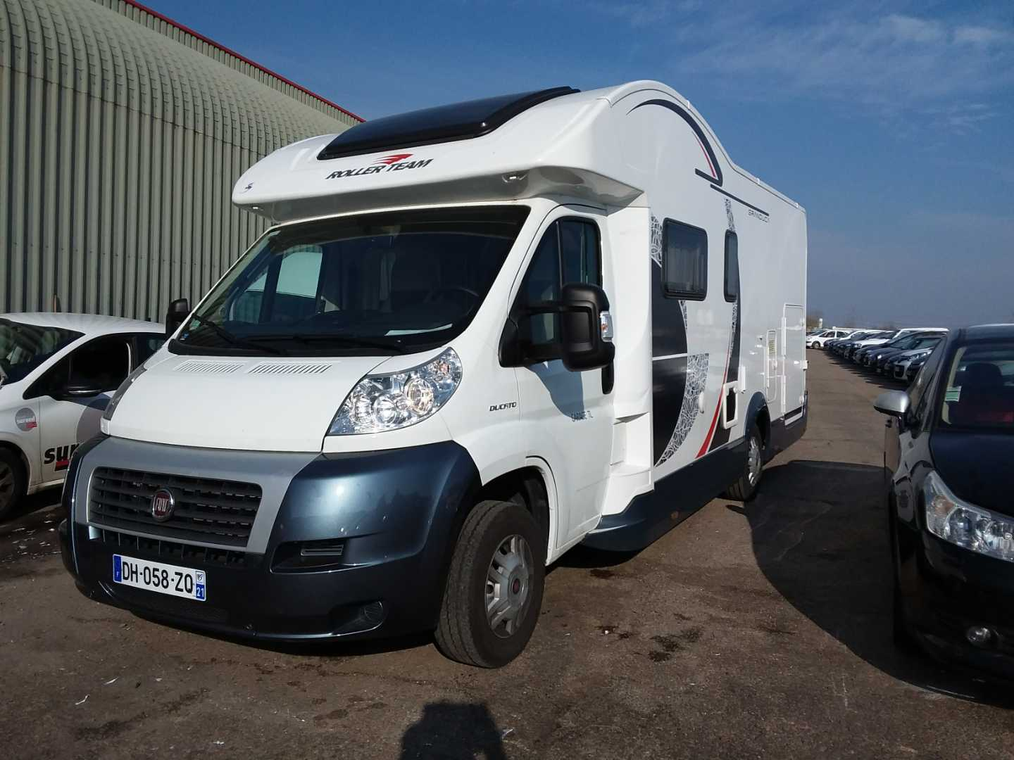 Fiat Ducato My Chassis Cabine 09 2011 04 201 Camping Car Rollerteam Granduca Tl Ducato 3 5 L 2 3 Mjt 130 Pack Alcopa Auction