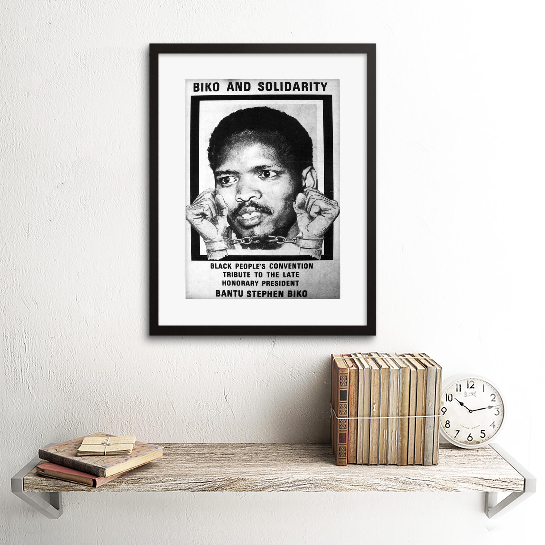 thumbnail 3 - Political Steve Biko Anc Apartheid South Africa Framed Wall Art Print