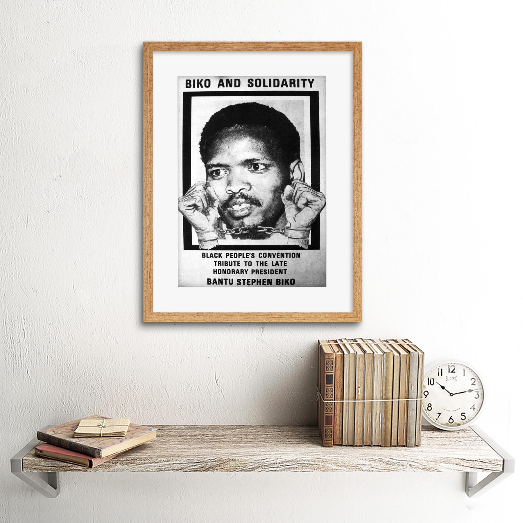 thumbnail 11 - Political Steve Biko Anc Apartheid South Africa Framed Wall Art Print