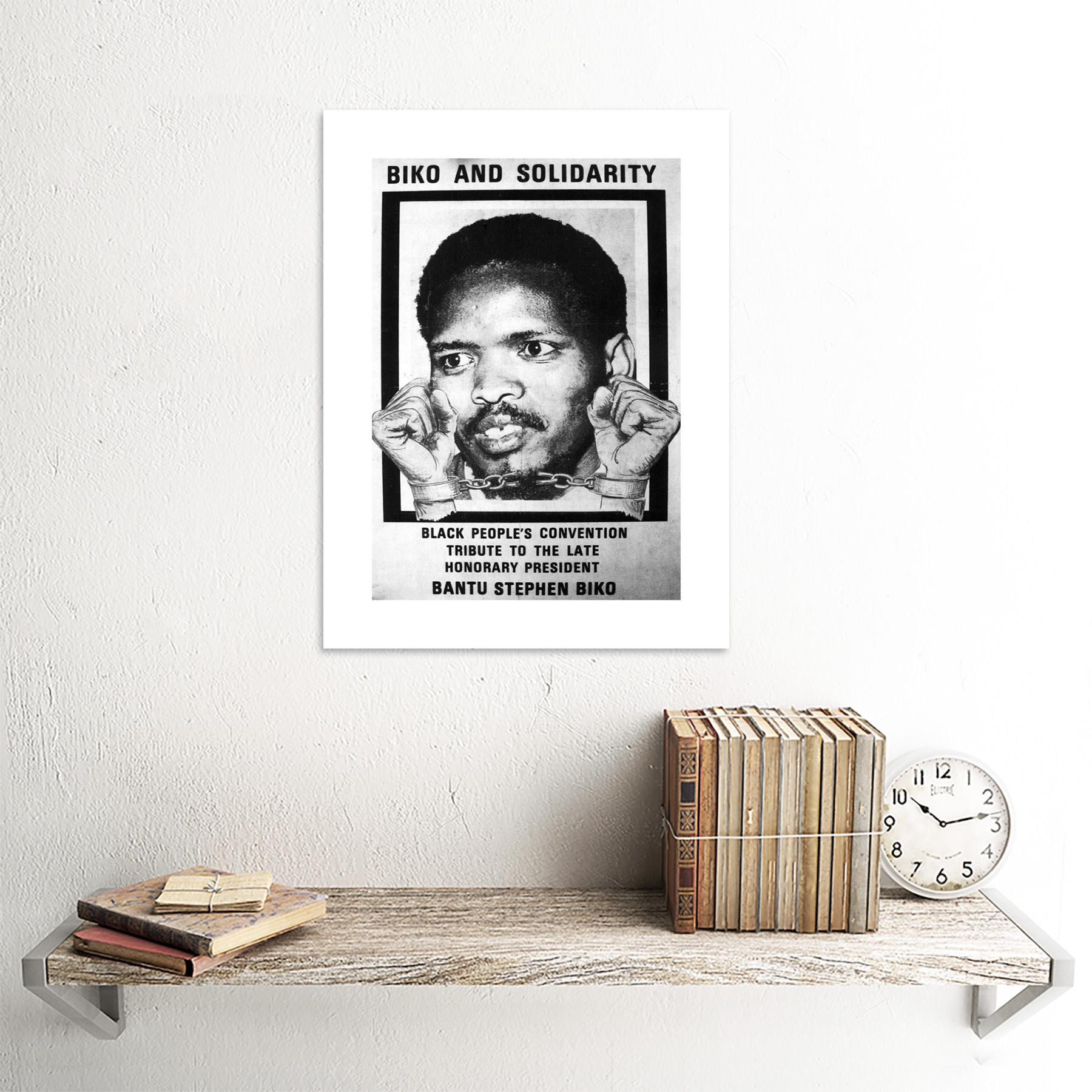 thumbnail 15 - Political Steve Biko Anc Apartheid South Africa Framed Wall Art Print