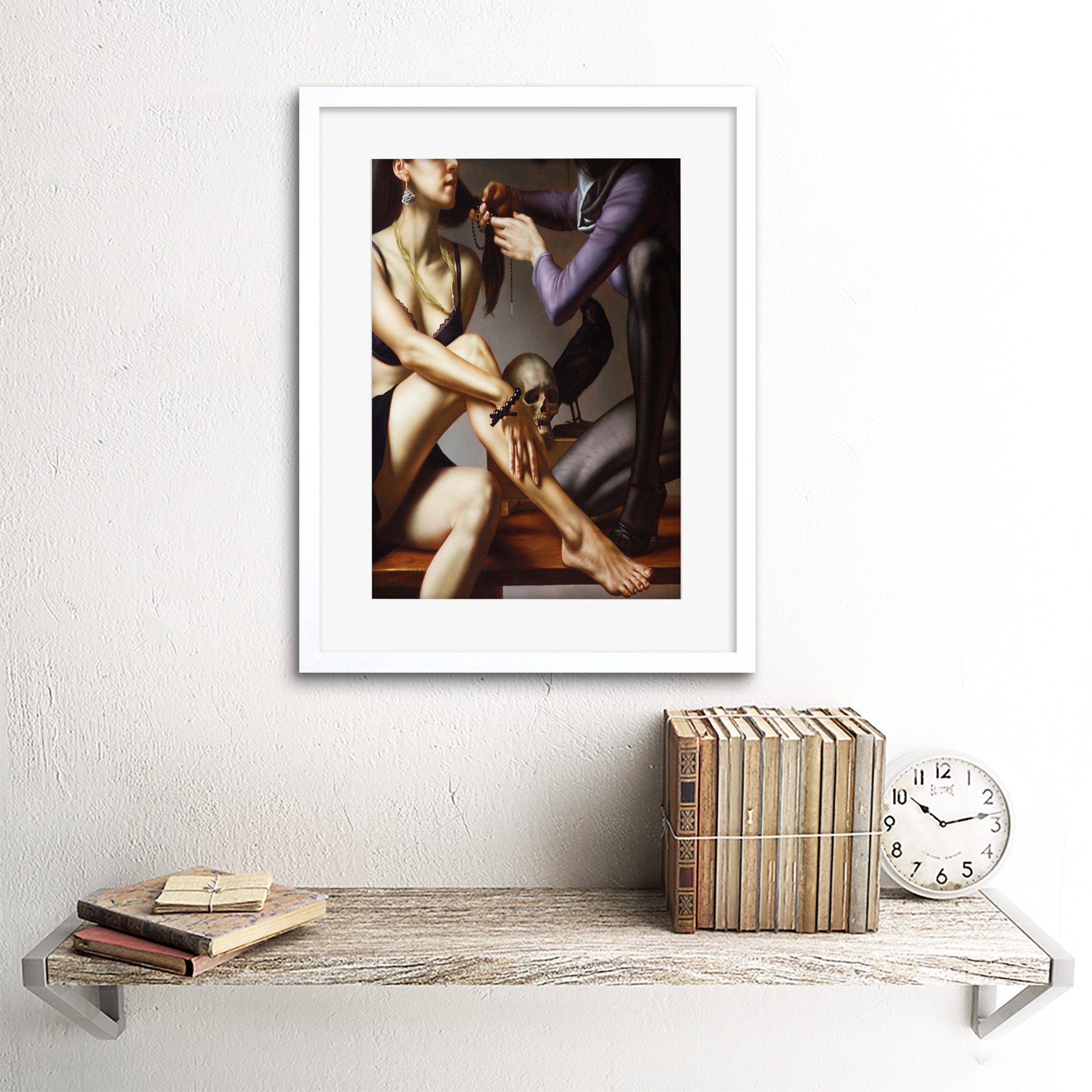 Painting-Balcar-Entering-Renaissance-Framed-Art-Print-12x16-Inch 縮圖 22