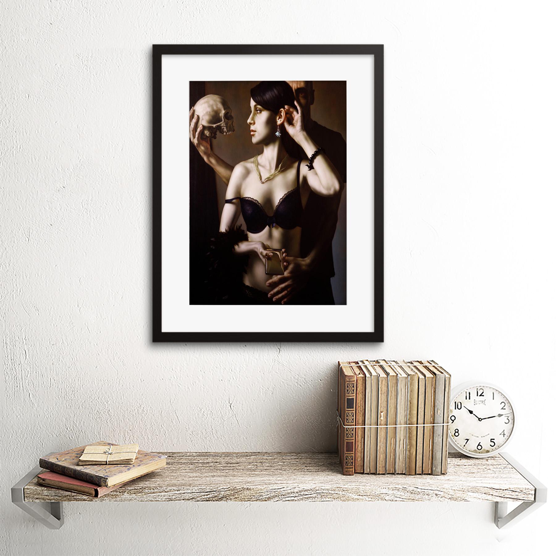Painting-Balcar-Send-Me-To-The-Future-Framed-Art-Print-12x16-Inch 縮圖 3