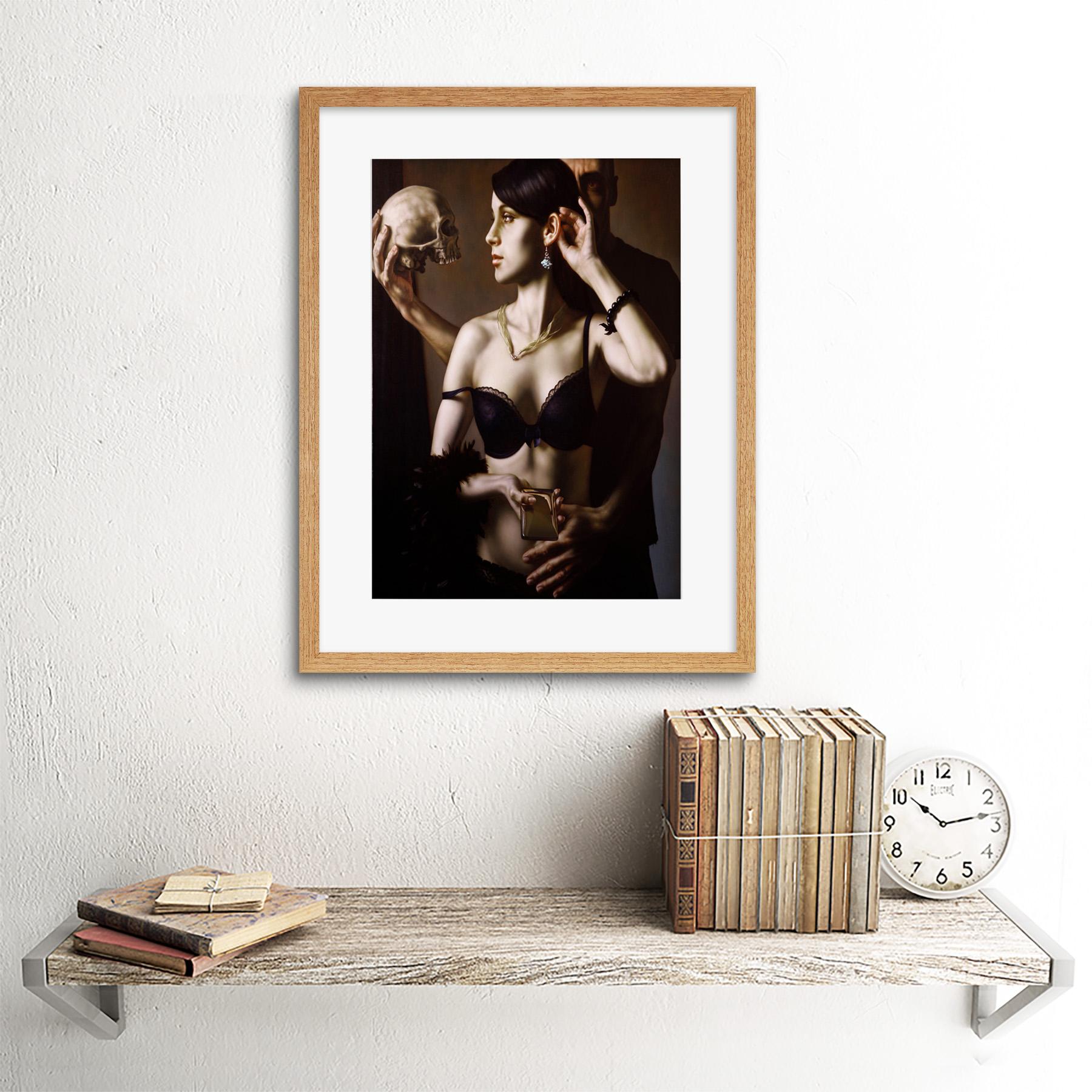 Painting-Balcar-Send-Me-To-The-Future-Framed-Art-Print-12x16-Inch 縮圖 13