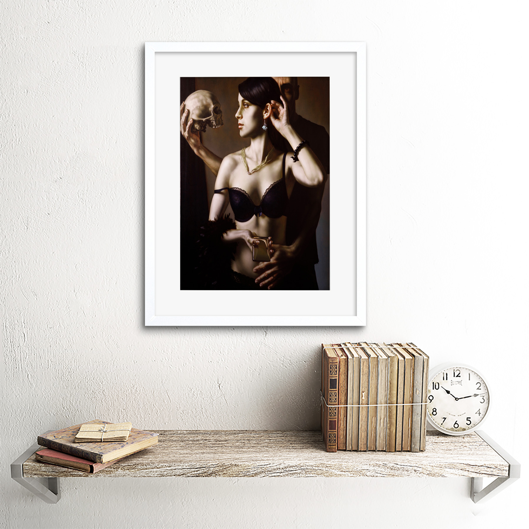 Painting-Balcar-Send-Me-To-The-Future-Framed-Art-Print-12x16-Inch 縮圖 22