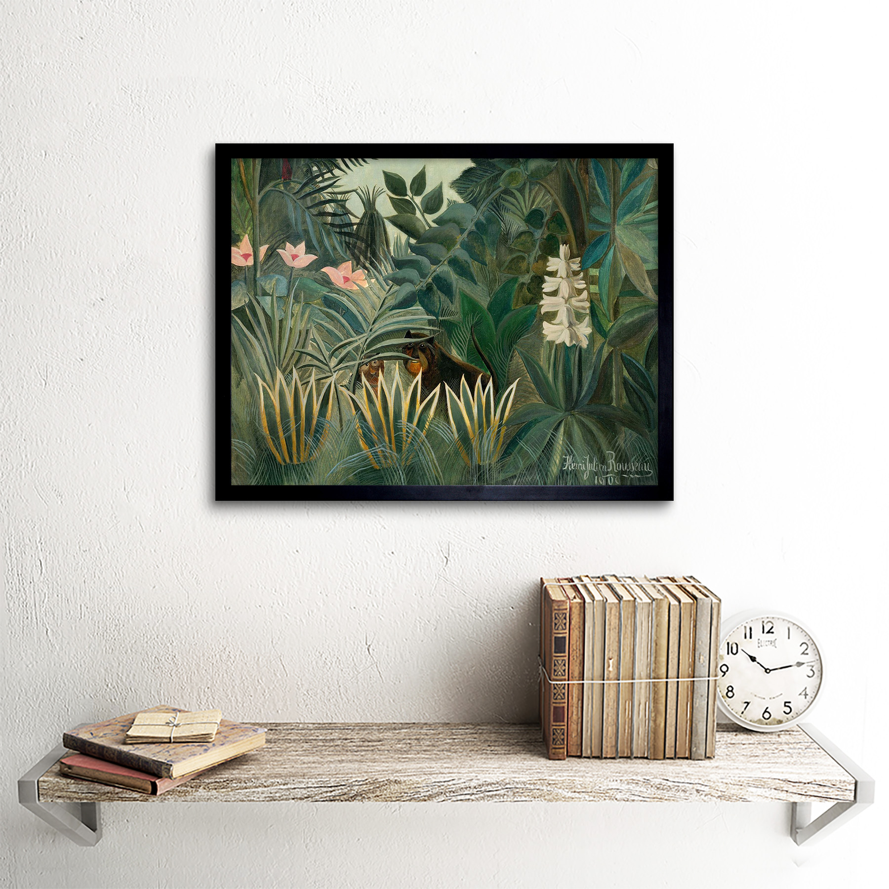PAINTING JUNGLE HENRI ROUSSEAU IL SOGNO LARGE WALL ART PRINT POSTER LF2143