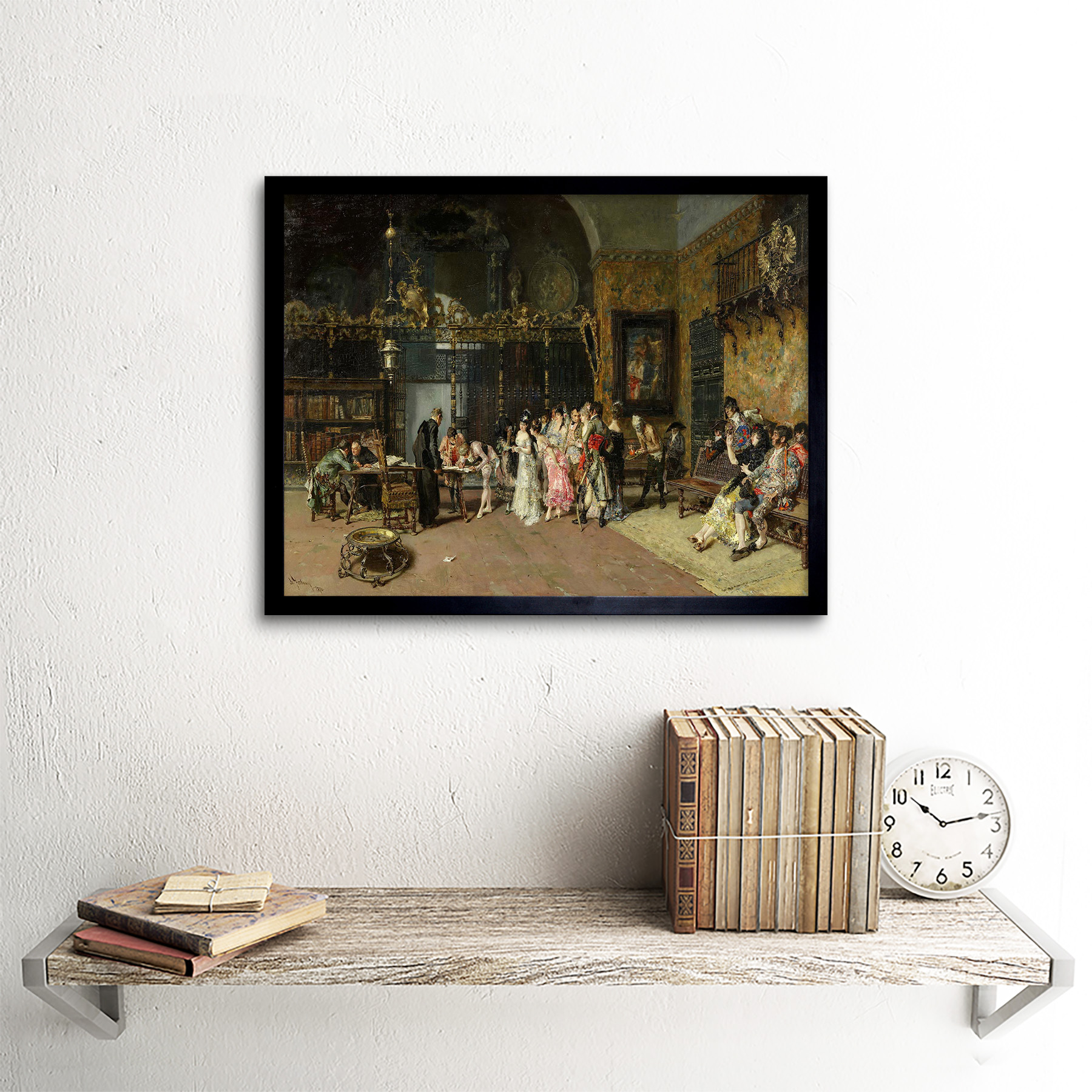 PAINTING FORTUNY THE ODALISQUE XXL POSTER WALL ART PRINT LLF0276