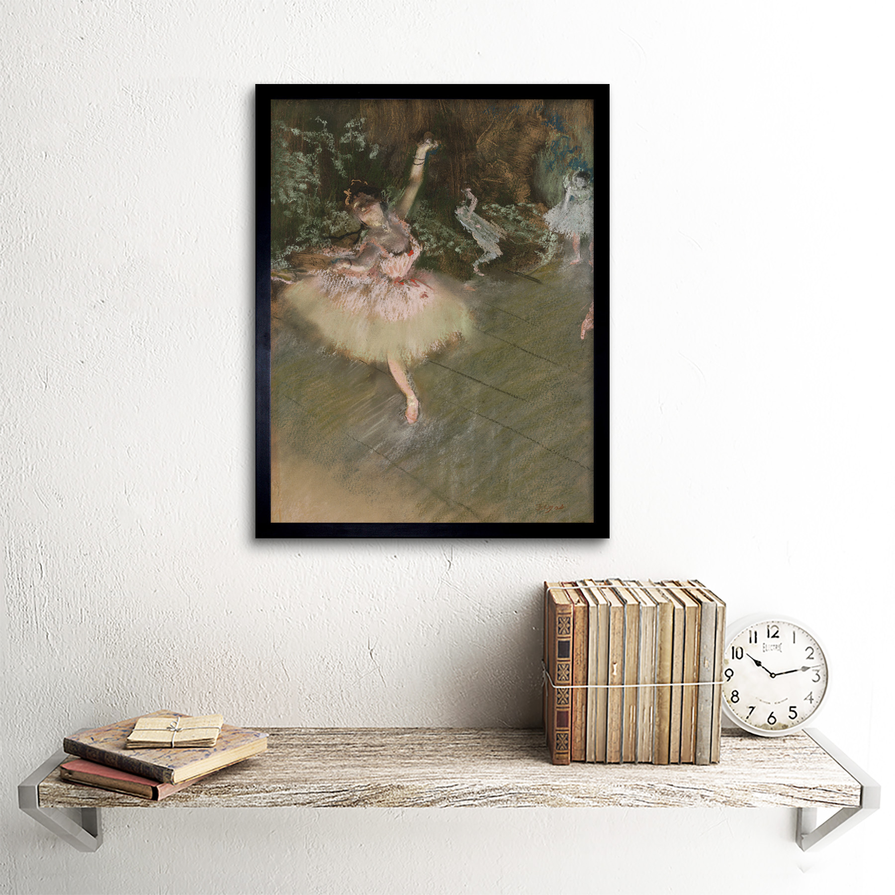 Edgar-Degas-The-Star-Art-Print-Framed-12x16 thumbnail 3