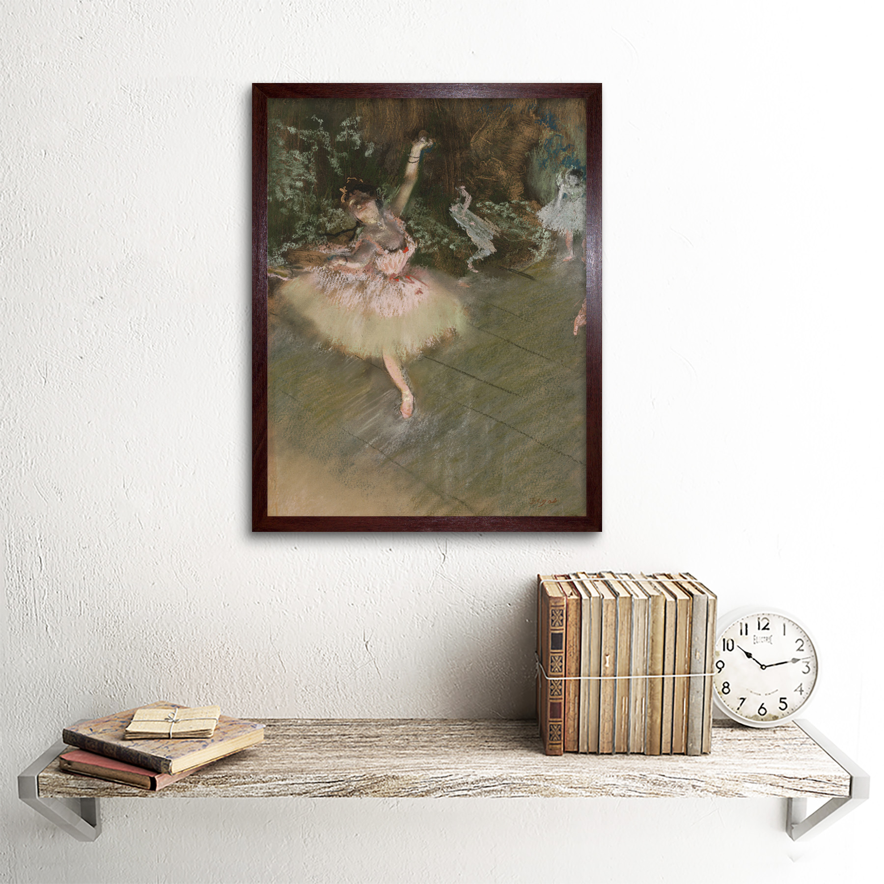 Edgar-Degas-The-Star-Art-Print-Framed-12x16 thumbnail 8