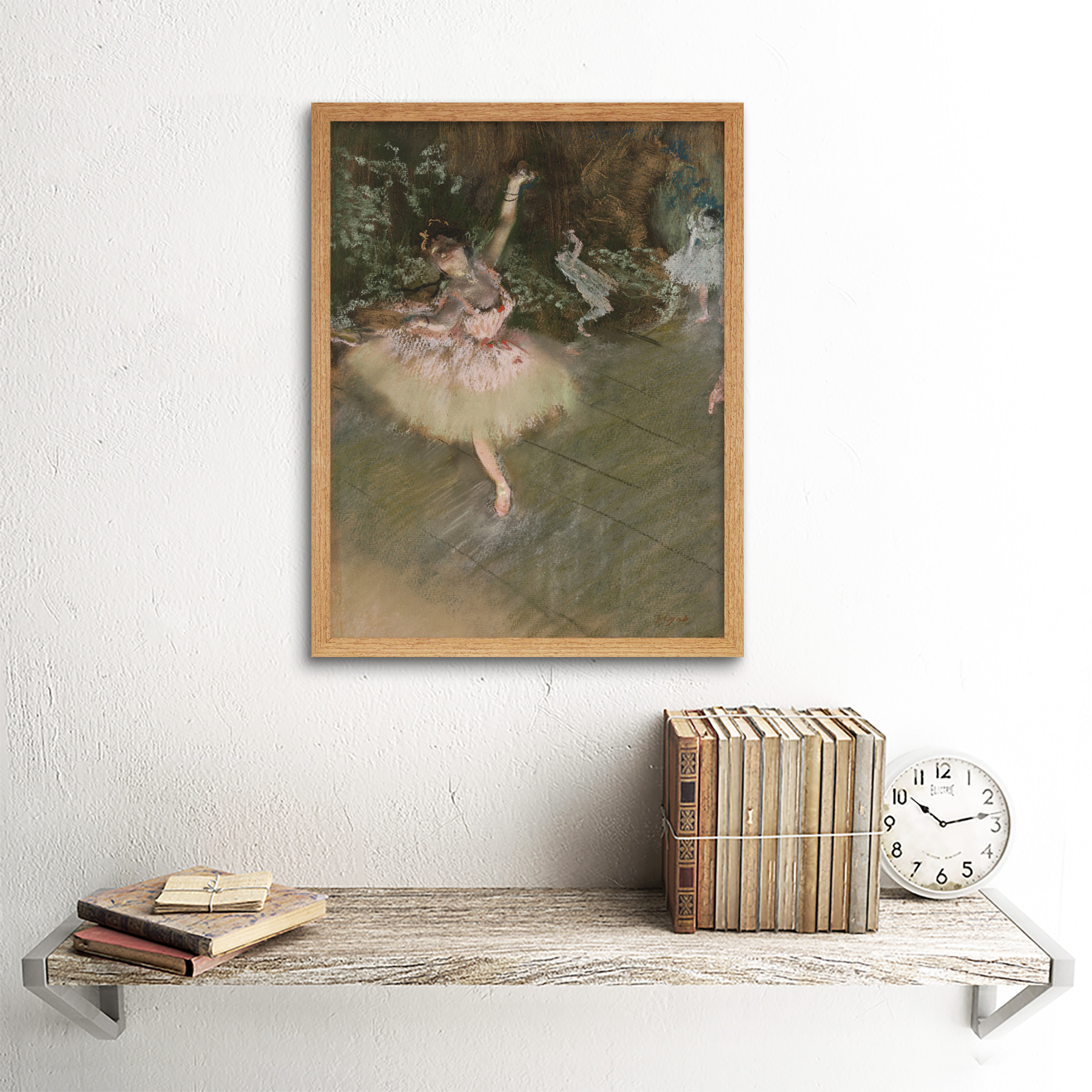 Edgar-Degas-The-Star-Art-Print-Framed-12x16 thumbnail 13
