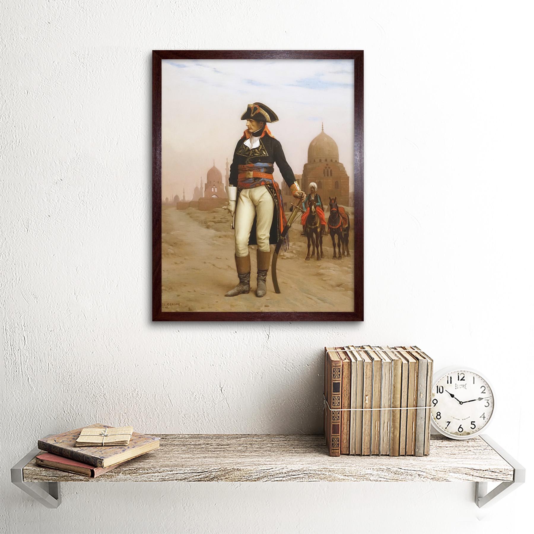Gerome-Napoleon-Bonaparte-In-Egypt-Painting-Art-Print-Framed-12x16 thumbnail 8
