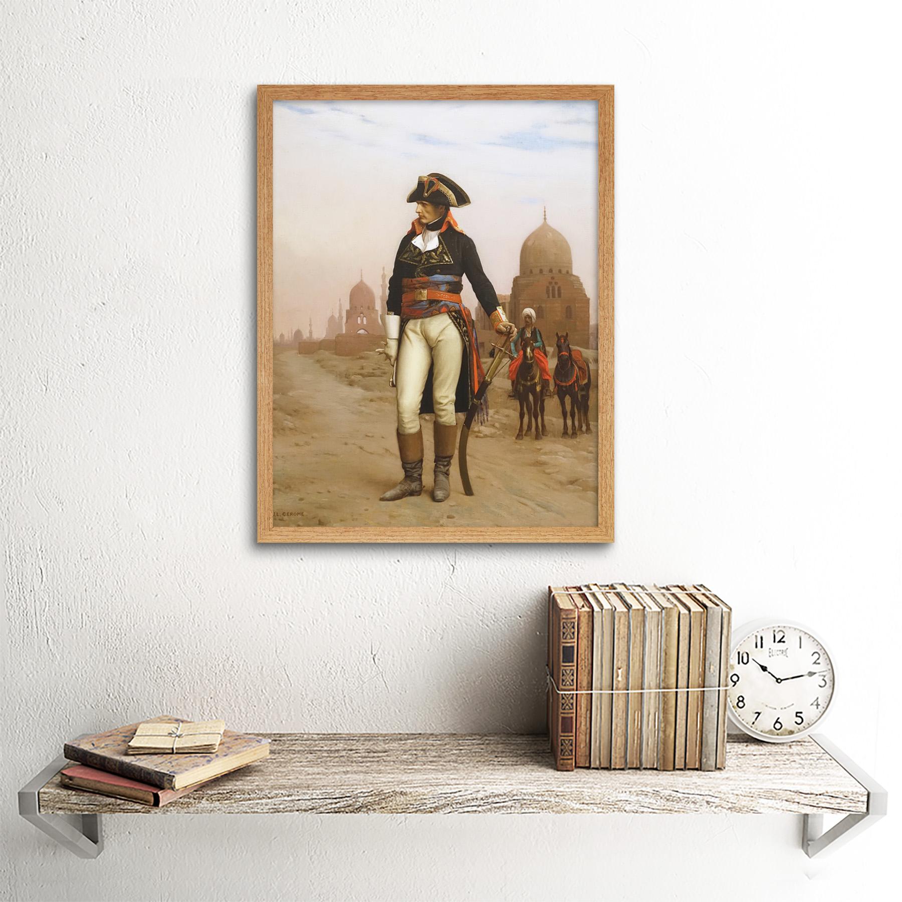 Gerome-Napoleon-Bonaparte-In-Egypt-Painting-Art-Print-Framed-12x16 thumbnail 13