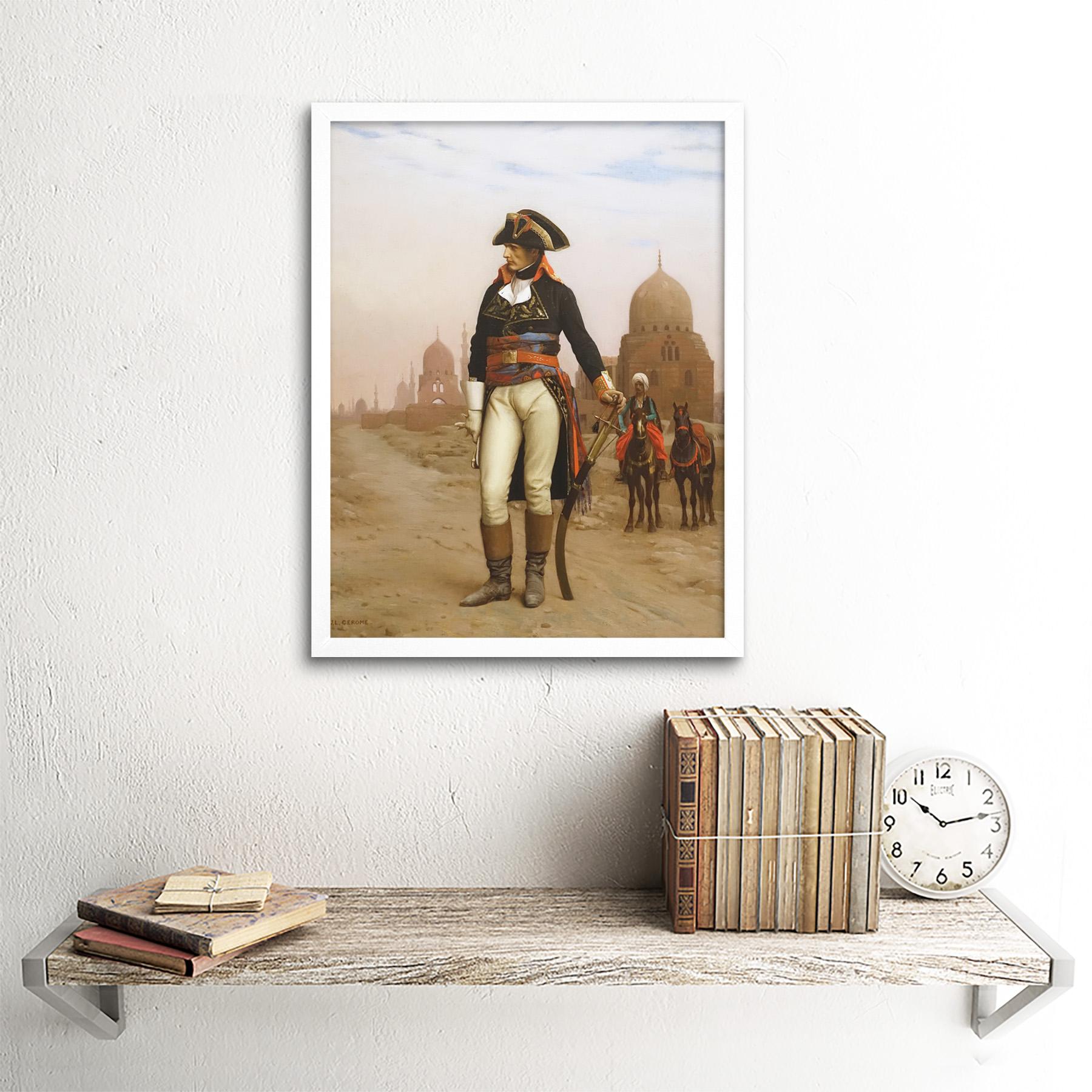 Gerome-Napoleon-Bonaparte-In-Egypt-Painting-Art-Print-Framed-12x16 thumbnail 18