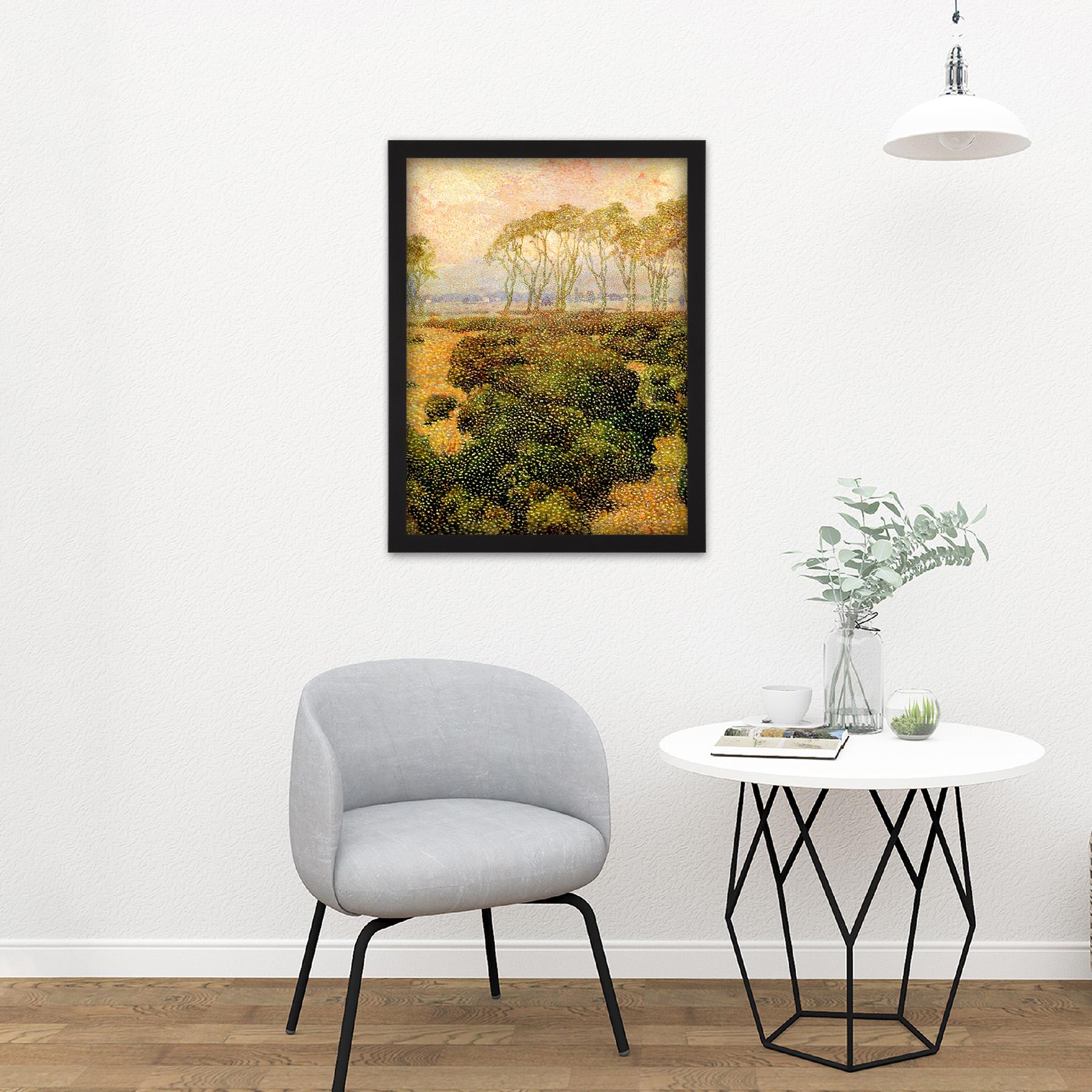 Guillemin-Last-Kiss-Impressionist-Landscape-Painting-Large-Framed-Art-Print thumbnail 8
