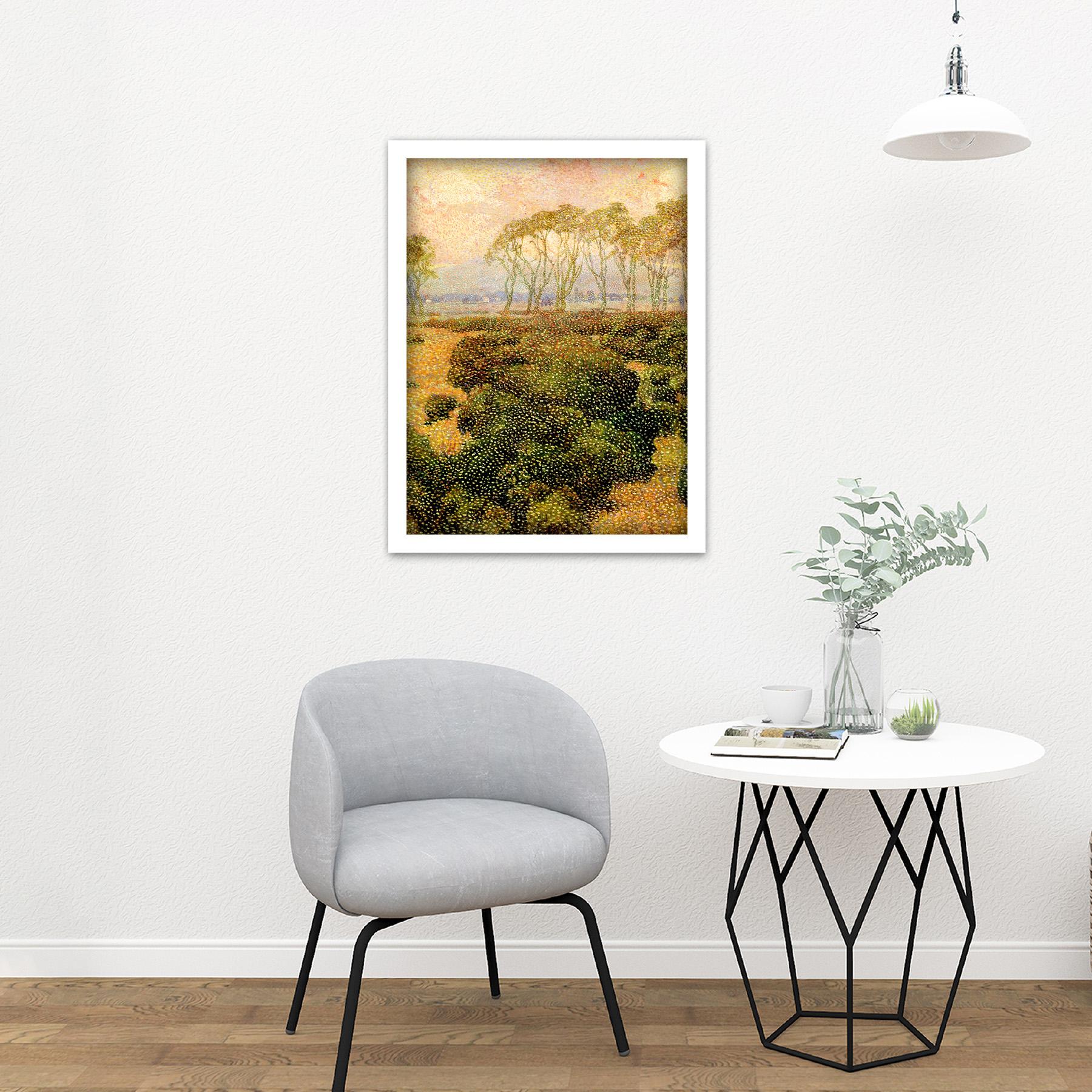 Guillemin-Last-Kiss-Impressionist-Landscape-Painting-Large-Framed-Art-Print thumbnail 23