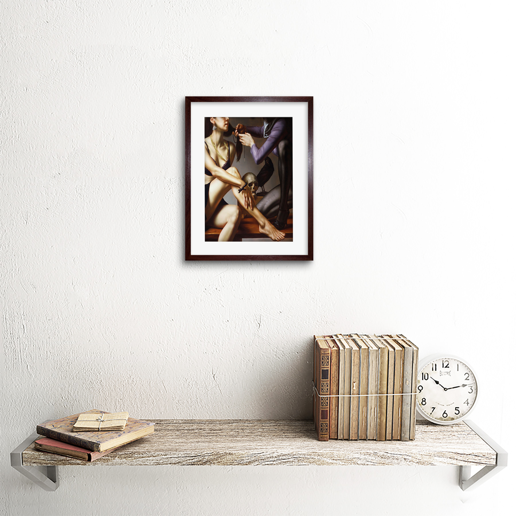 Painting-Balcar-Entering-Renaissance-Framed-Art-Print-9x7-Inch 縮圖 8