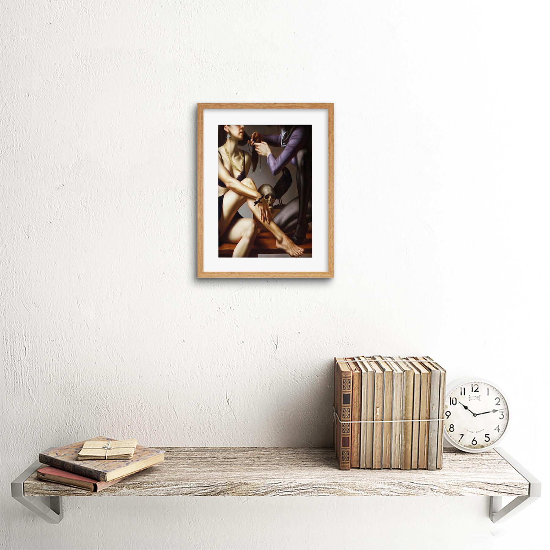 Painting-Balcar-Entering-Renaissance-Framed-Art-Print-9x7-Inch 縮圖 13