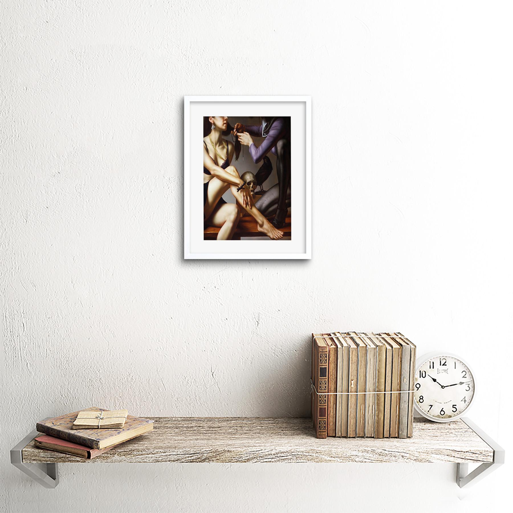 Painting-Balcar-Entering-Renaissance-Framed-Art-Print-9x7-Inch 縮圖 18
