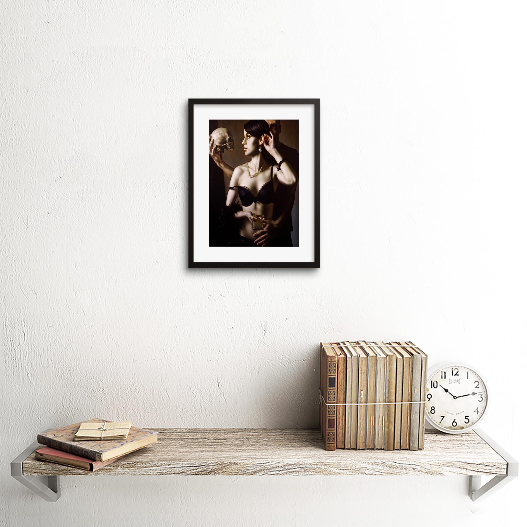 Painting-Balcar-Send-Me-To-The-Future-Framed-Art-Print-9x7-Inch 縮圖 3