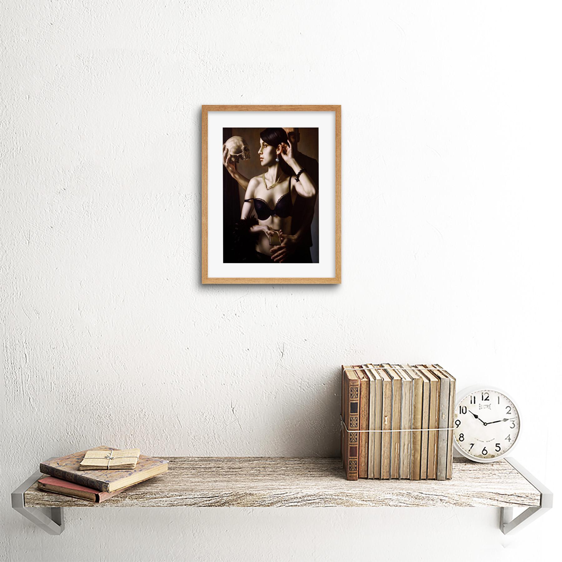 Painting-Balcar-Send-Me-To-The-Future-Framed-Art-Print-9x7-Inch 縮圖 13