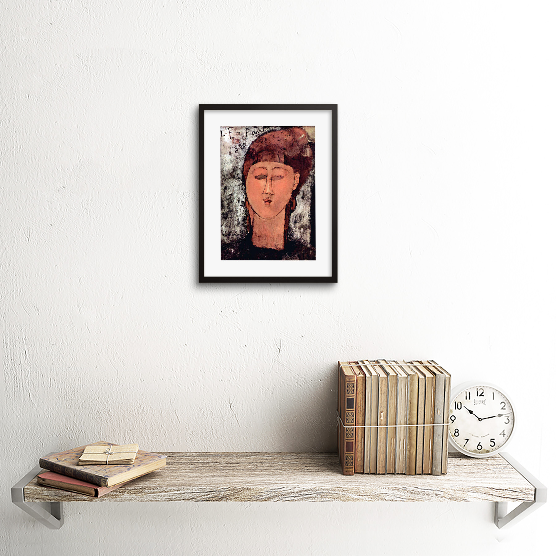 thumbnail 4 - Painting-Modigliani-Enfant-Gras-Old-Master-Framed-Picture-Art-Print-9x7-Inch
