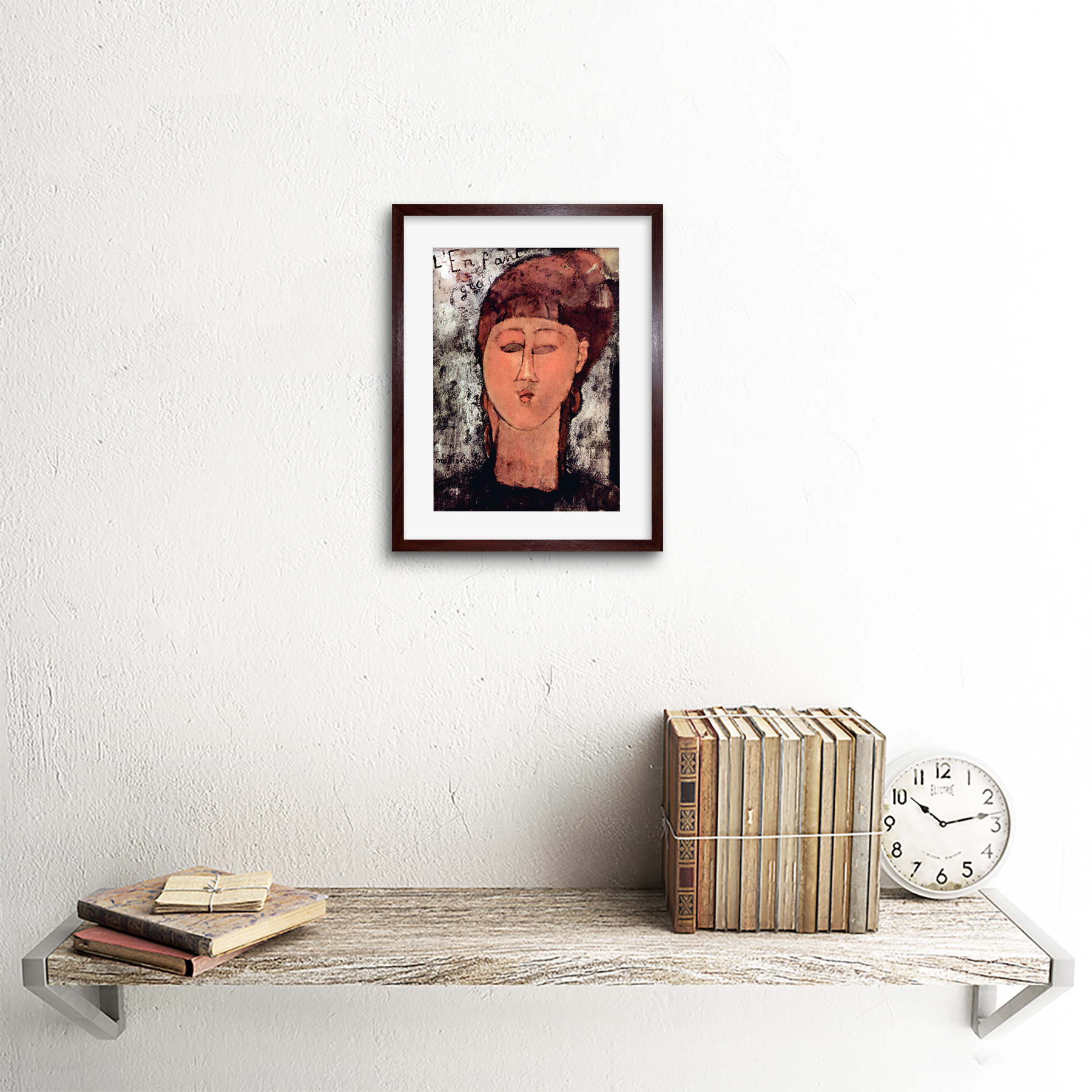 thumbnail 9 - Painting-Modigliani-Enfant-Gras-Old-Master-Framed-Picture-Art-Print-9x7-Inch