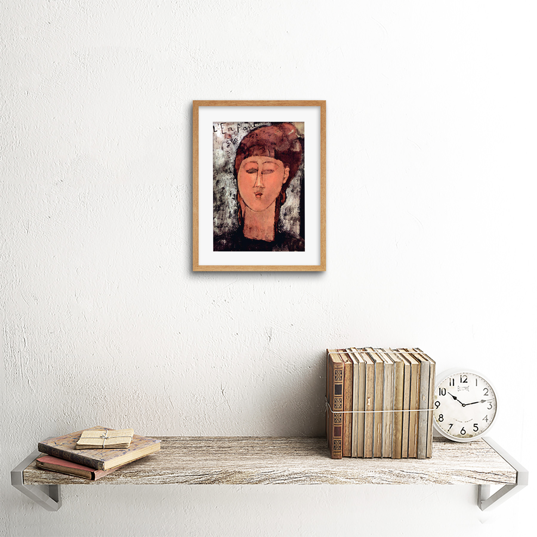 thumbnail 14 - Painting-Modigliani-Enfant-Gras-Old-Master-Framed-Picture-Art-Print-9x7-Inch