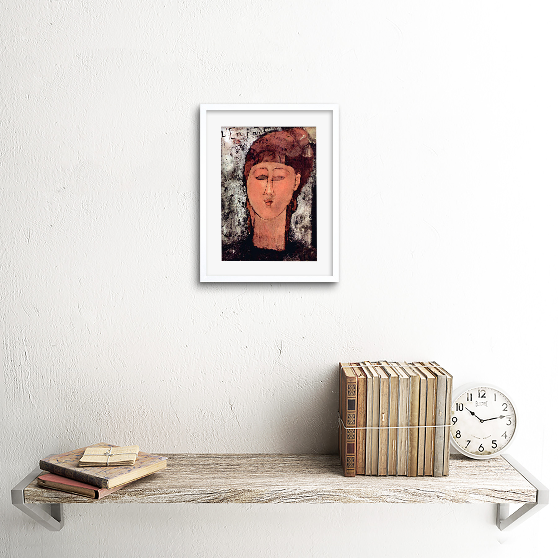 thumbnail 19 - Painting-Modigliani-Enfant-Gras-Old-Master-Framed-Picture-Art-Print-9x7-Inch