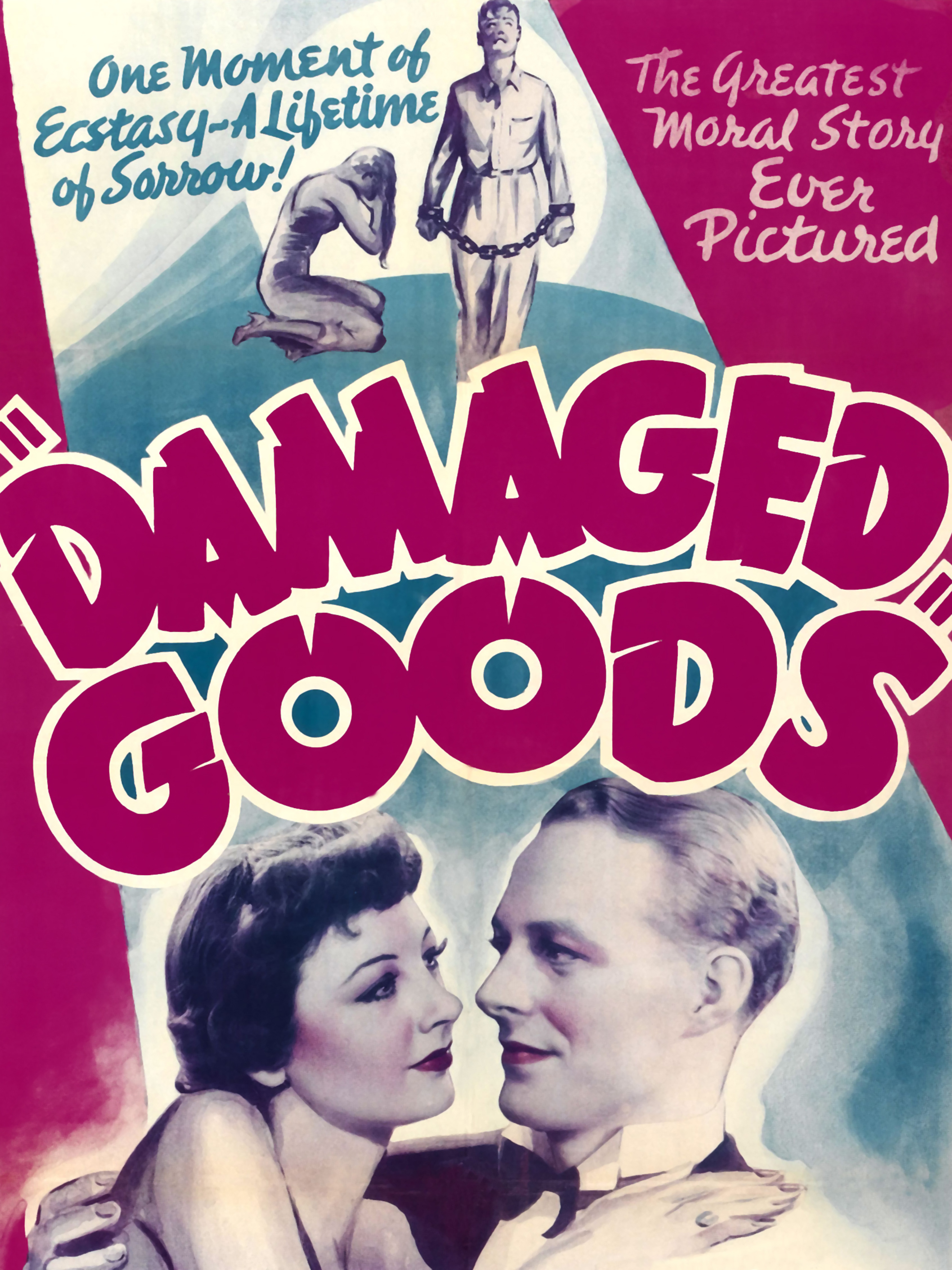 Details about Movie Film Damaged Goods Moral Drama Marriage Vice USA Art  Canvas Print