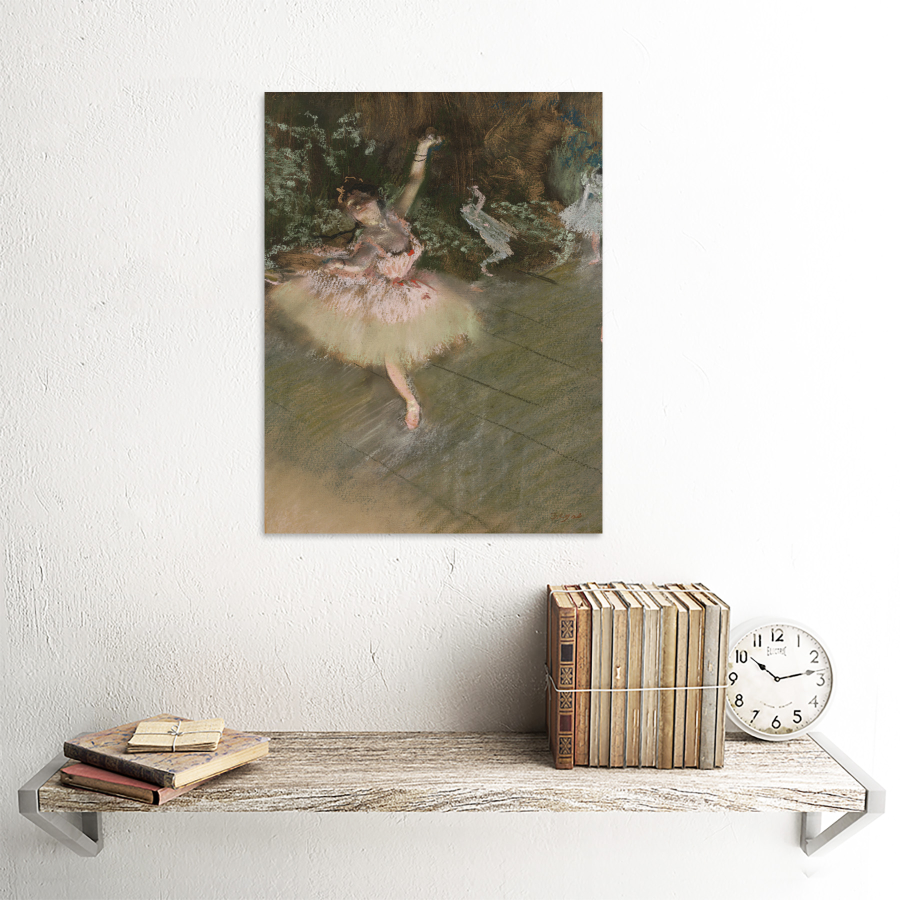 Edgar-Degas-The-Star-Art-Print-Framed-12x16 thumbnail 23