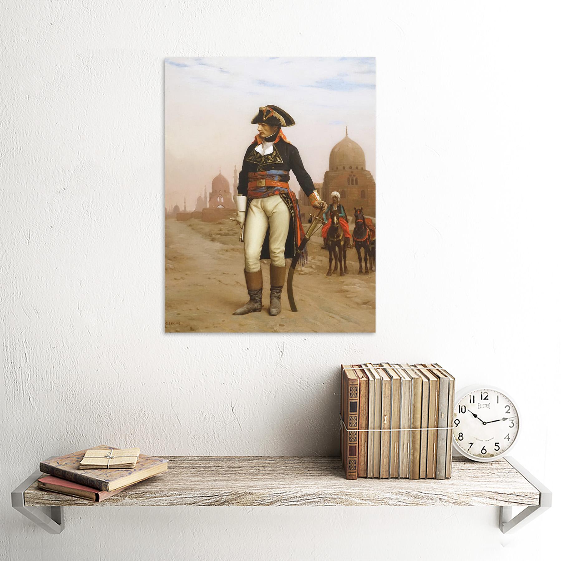 Gerome-Napoleon-Bonaparte-In-Egypt-Painting-Art-Print-Framed-12x16 thumbnail 23