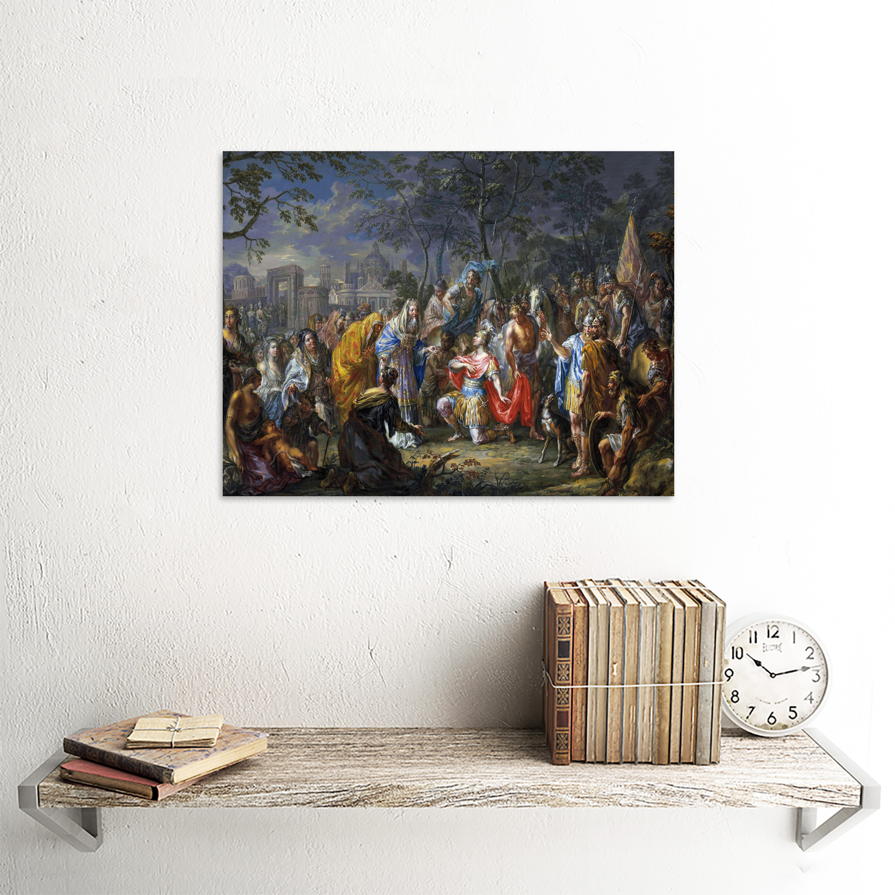 Platzer-Alexander-Great-Keys-Babylon-Painting-Art-Print-Framed-12x16 thumbnail 23