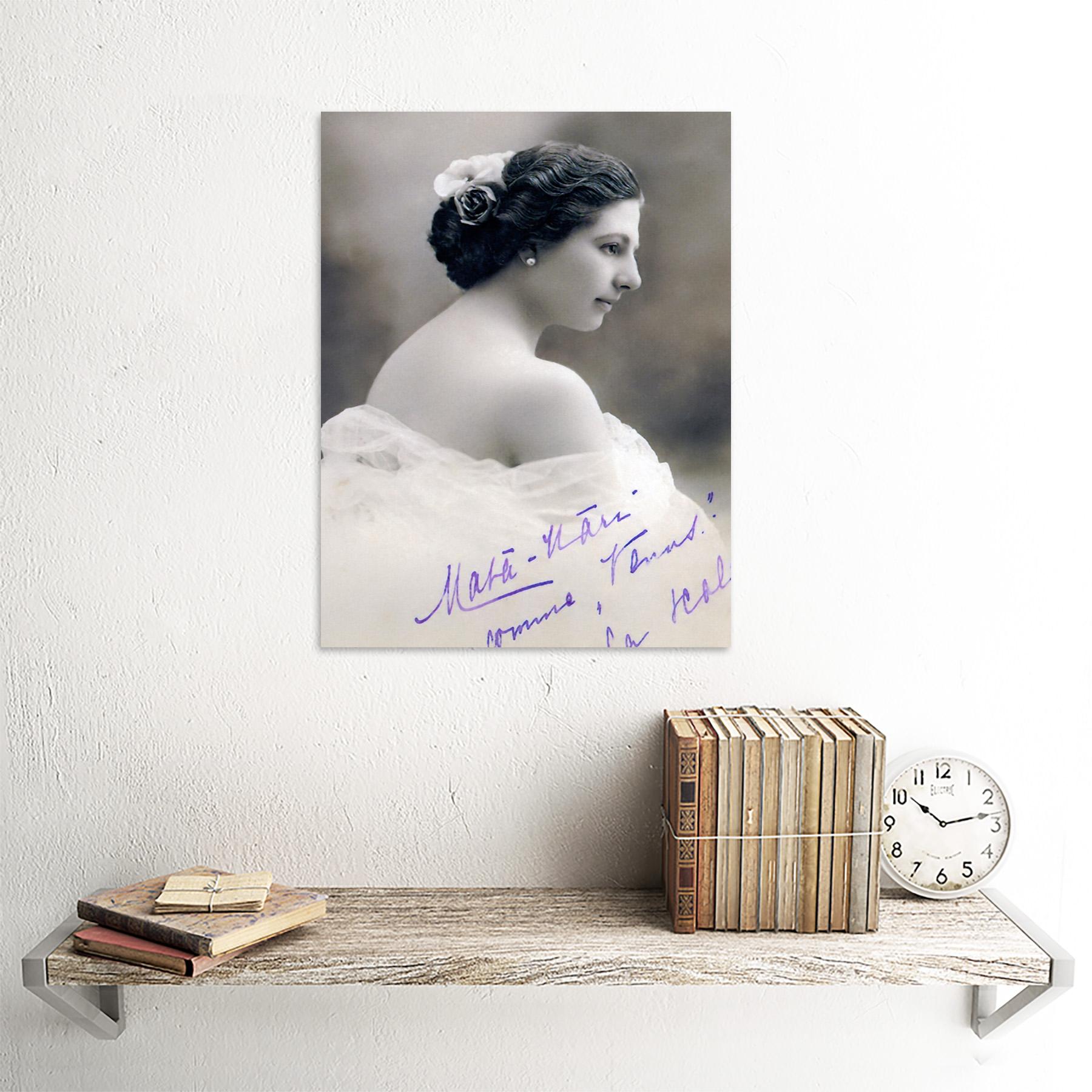 Autographed-Portrait-Dancer-Spy-Mata-Hari-Photo-Framed-Wall-Art-Poster thumbnail 23