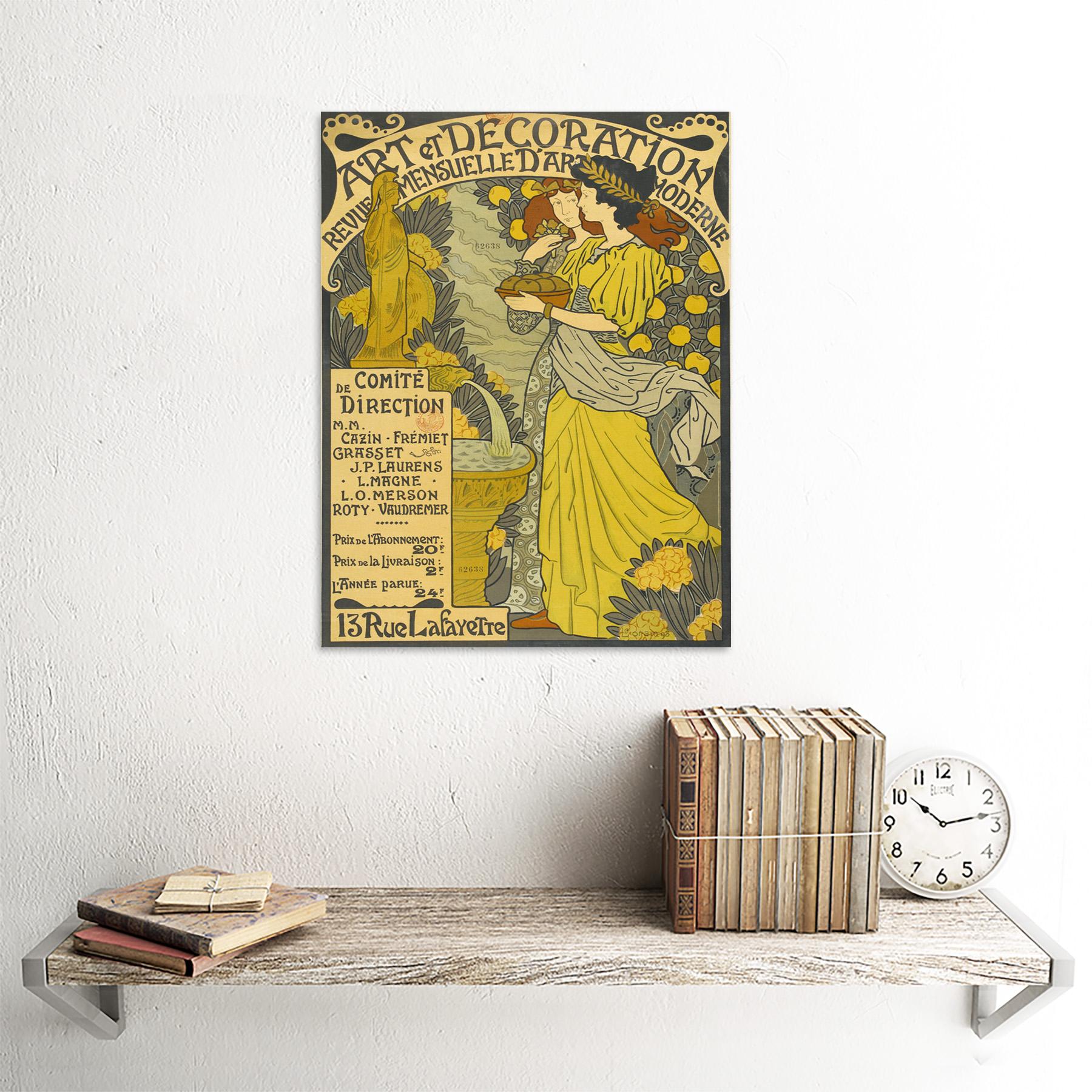 Lorain-Decoration-Magazine-Nouveau-French-Advert-Framed-Wall-Art-Poster thumbnail 23