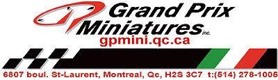 Grand Prix Miniatures inc