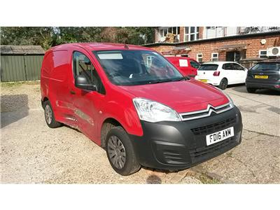 2016 CITROEN BERLINGO L1 625 Enterprise HDi 75 SWB