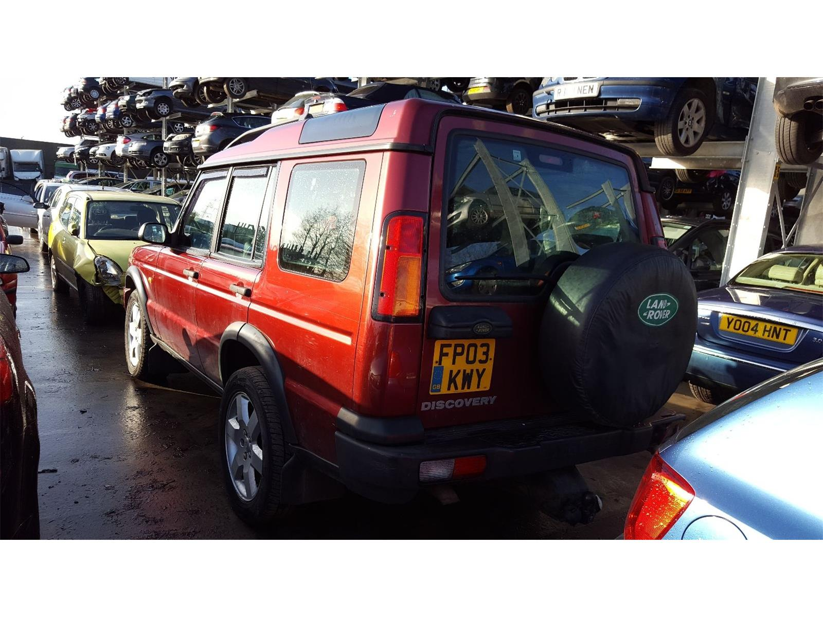 automatic tyres seat discovery land door diesel breaking gs parts details landrover to breaker rover