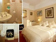 Single in a double en-suite room,