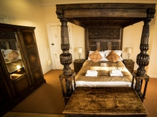 Classic Four Poster Room with Sea View
