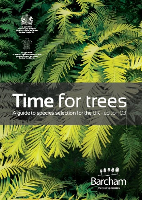 Time for Trees: Edition 3 cover