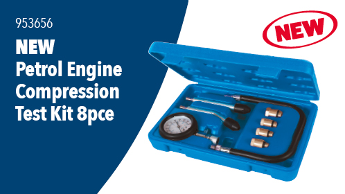 PETROL ENGINE COMPRESSION TEST KIT 8pce