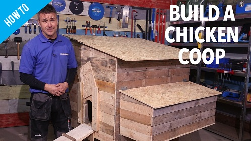 Silverline How to build a Chicken Coop