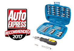 RATCHET SCREWDRIVER BIT & SOCKET SET