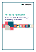 Associate Fellowship – Supporting Statement Guidance and Template