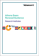 Athena Swan Research Institute Renewals Process Guidance
